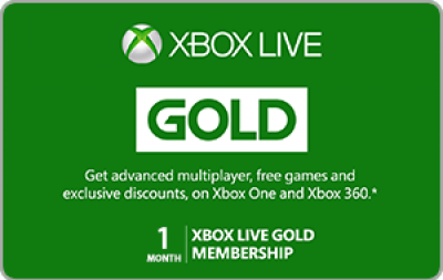 Xbox-Live-1-Month-Gold